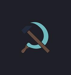 ussr computer symbol vector image