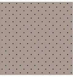 Black dot lacy seamless background vector