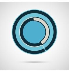 Modern circle  concept design vector