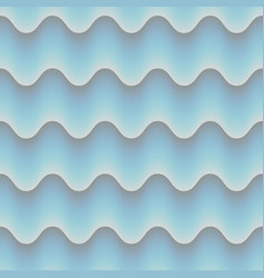Blue abstrct wave 3d seamless background eps 10 vector