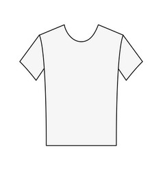 sport tshirt clothes vector image vector image