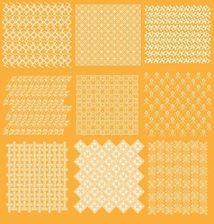 Java batik pattern collection vector