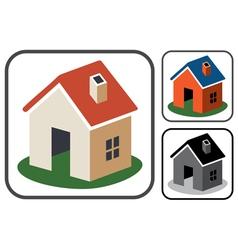 Home symbols vector