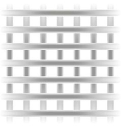 Gray square grille texture background straight vector