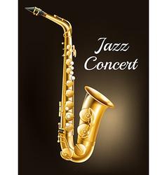 A saxophone vector image vector image
