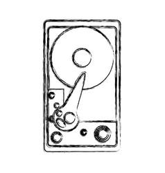 cd rom hardware vector image