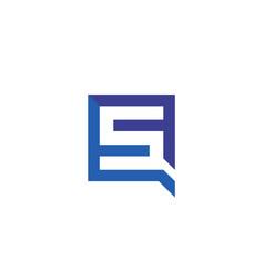 letter s icon alphabet symbol vector image vector image