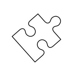 puzzle pieces concept vector image vector image
