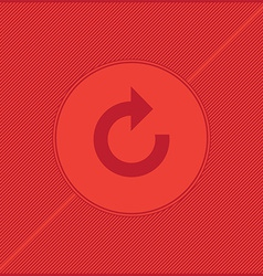 reload red background vector image