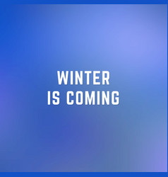 square blurred winter background in dark blue vector image