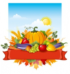 Rich harvest vector