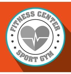 Cardio sport gym vector