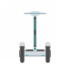 City Segway Icon vector image