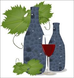 grape01 vector image