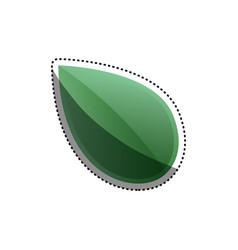 Green leaf ecology vector