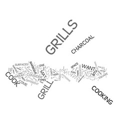 Grill featureswps text background word cloud vector