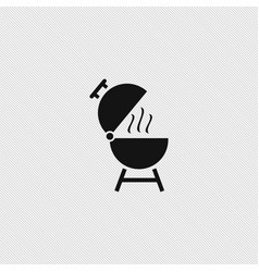 Grill icon simple vector