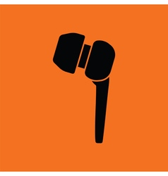 Headset icon vector image