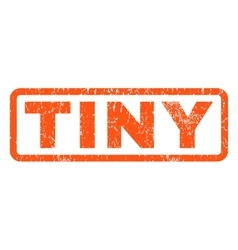 Tiny rubber stamp vector