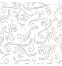 Seamless swirl ornament vector