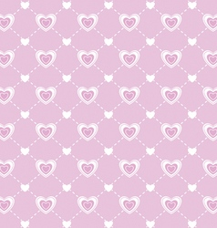 Love valentines day seamless pattern vector