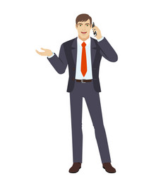 businessman vector image