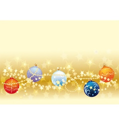 Gols christmas background vector