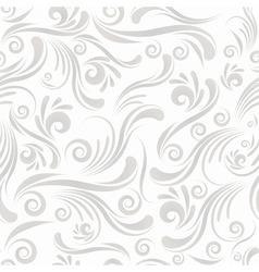 seamless swirl ornament vector image vector image