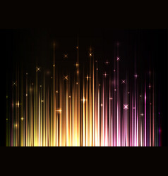 Sparkling light stream from under background vector