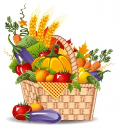 rich harvest vector image
