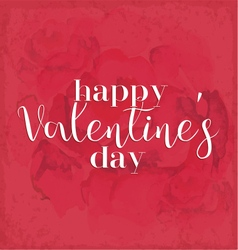 Valentines day vintage greeting card element vector