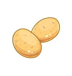 Couple potatoes vector