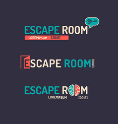 real-life room escape vector image vector image