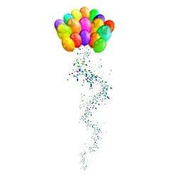 Arty balloons vector