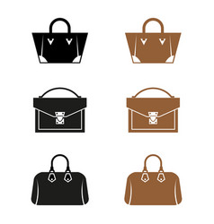 bags vector image