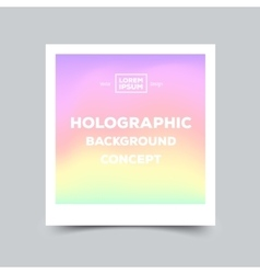 Fluid colors modern hipster style card with vector