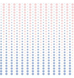 Halftone dots pink and blue pastel color vector