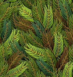 Seamless spruce pattern Military background Army vector image