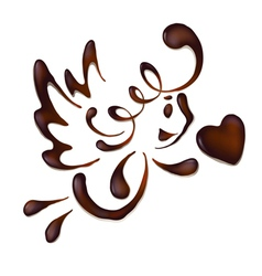 Chocolate valentine vector
