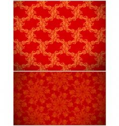 seamless Christmas image vector image