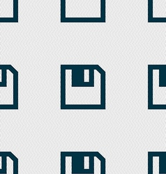 Floppy icon flat modern design seamless abstract vector
