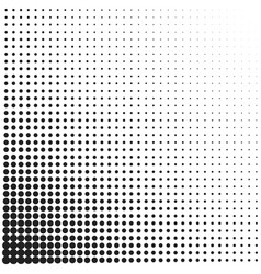 Halftone dotted vintage retro gradients pattern vector