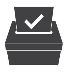 Election icon vector