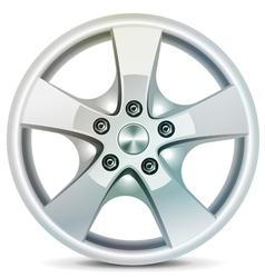 Wheel rim vector image
