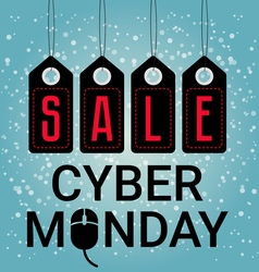 Cyber Monday design sales Mouse icon November or vector image vector image
