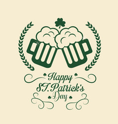 patricks day icon image vector image vector image