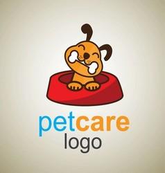 Pet care logo 3 vector