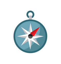 simple travel compass vector image