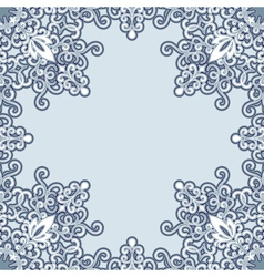 Swiry frame vector image vector image