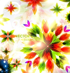 Abstract autumn backdrop vector